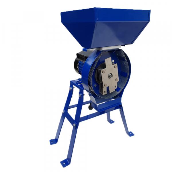 Moara electrica cereale,CUVA MARE,cu suport,Ruseasca,3500 W,3000 rpm,200 Kg/h,BOBINAJ CUPRU, Model 2020 2