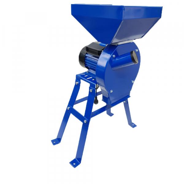 Moara electrica cereale,CUVA MARE,cu suport,Ruseasca,3500 W,3000 rpm,200 Kg/h,BOBINAJ CUPRU, Model 2020 0