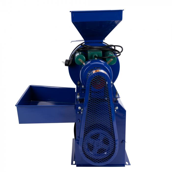 Moara electrica cereale,furaje si stiuleti de porumb,cu ciocanele nr.8, 3 in 1 Micul Fermier [2]