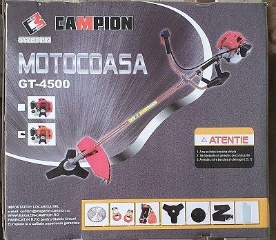 Pachet Motocoasa Campion 6 Cp,7 accesorii+Accesoriu taiat crengi la inaltime,model 2020 1