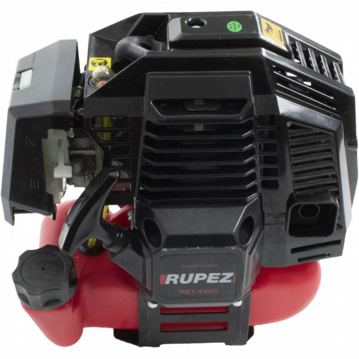 Motocoasa pe benzina Rupez, 5.6CP, 56cc, 9000Rpm, 4200W + 4 Sisteme Taiere Incluse [4]
