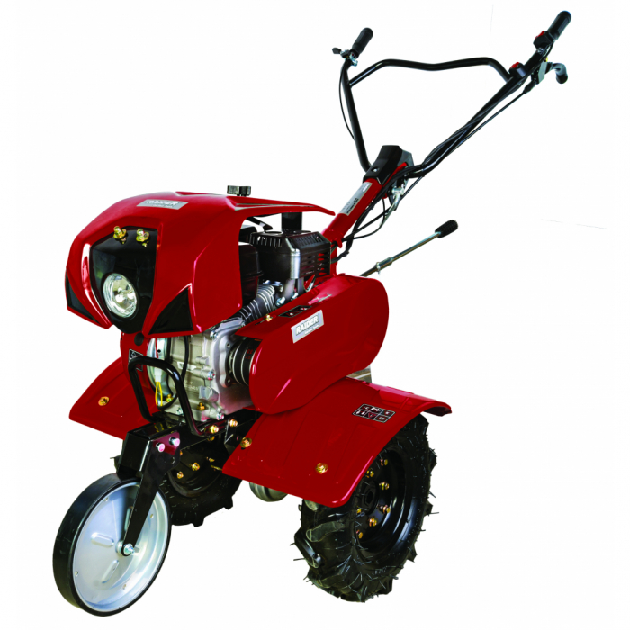 Motocultor pe benzina  7 CP, 2+1 viteze cu accesorii si far Raider RD-T07 [0]
