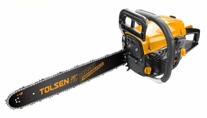 Drujba pe benzina Tolsen 79611, motor 2 timpi, 2.9 Cp, 2100 W, 3200 Rpm, lama 50cm [0]