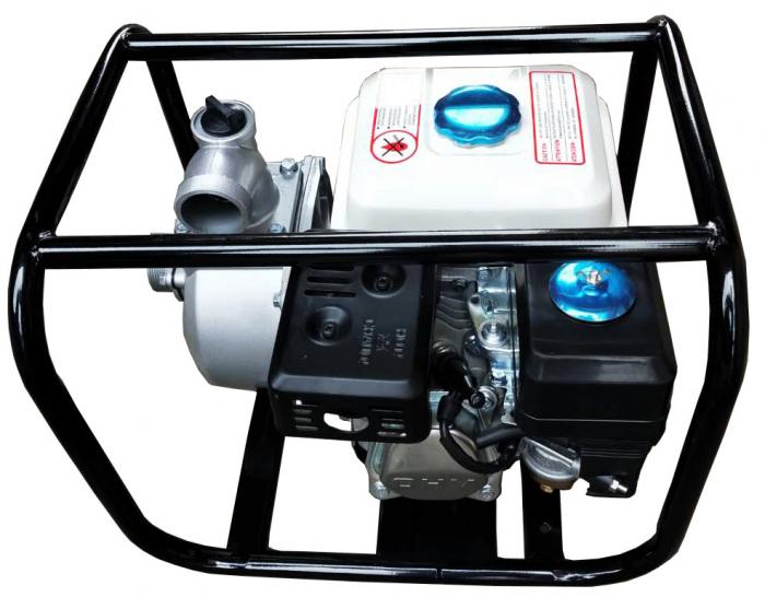 "Motopompa pe benzina motor 4 timpi DDT, WP-50 , 6.5 cp, 196 CC, 30 m³/h debit, 2 "" [1]"