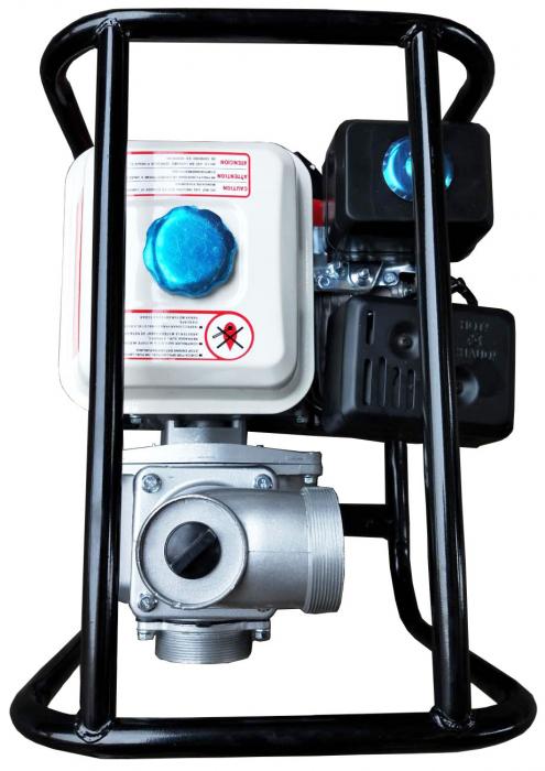 "Motopompa pe benzina motor 4 timpi DDT, WP-50 , 6.5 cp, 196 CC, 30 m³/h debit, 2 "" [2]"