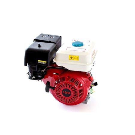 Motor pe benzina 9 CP, 4 timpi, OHV, ax 24mm cu pana, GF-0344, Micul Fermier [0]
