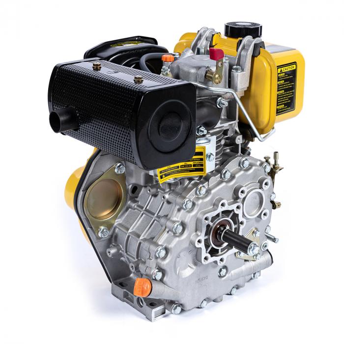 Motor DIESEL ( motorina ) Micul Fermier GF-0356, 10 CP, 4 timpi, 186FA, 418 Cc, 7.7 KW, 1300 Rpm [3]