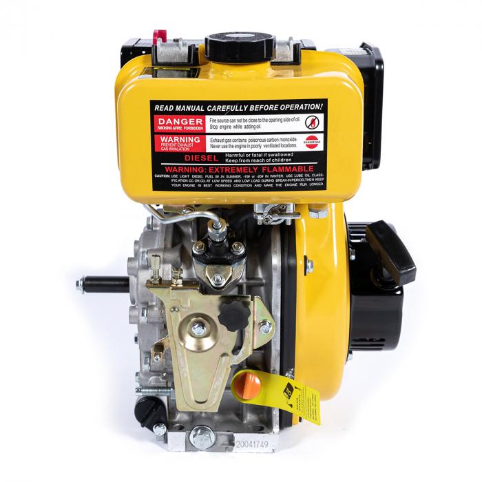 Motor DIESEL ( motorina ) Micul Fermier GF-0356, 10 CP, 4 timpi, 186FA, 418 Cc, 7.7 KW, 1300 Rpm [5]