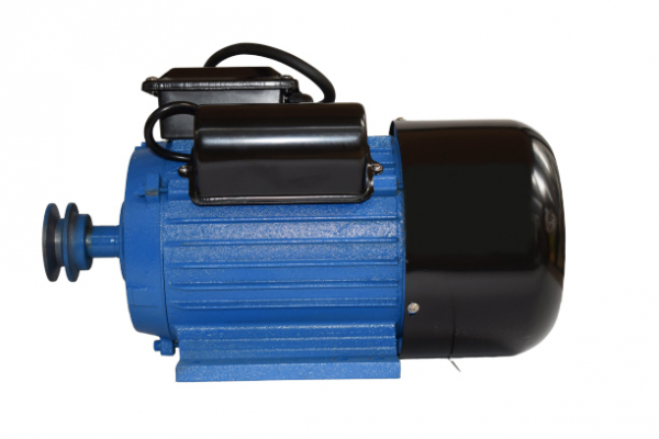 Motor electric monofazat, DDT, 3 Kw, 3000 rpm, 2 condensatori, corp fonta, bobinaj cupru 1