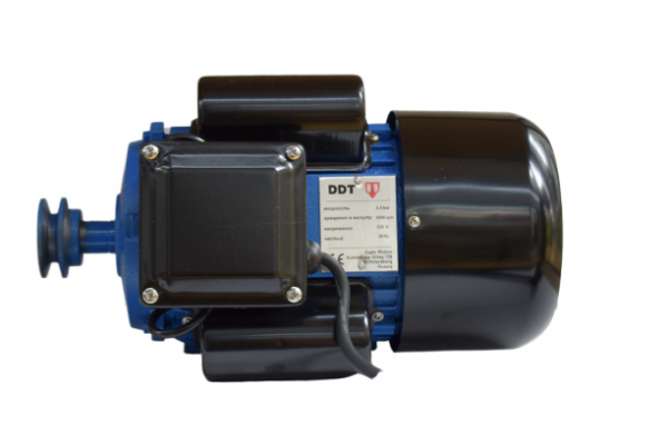 Motor electric monofazat, DDT, 2.2 KW, 1500 rpm, 2 condensatori, corp fonta, bobinaj cupru [2]