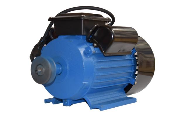 Motor electric monofazat, DDT, 4 Kw, 3000 rpm, 2 condensatori, corp fonta, bobinaj cupru [0]