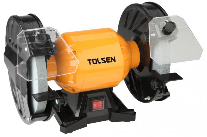 Polizor de banc Toolsen 79646, 150W, 150mm, 2950/rpm [0]
