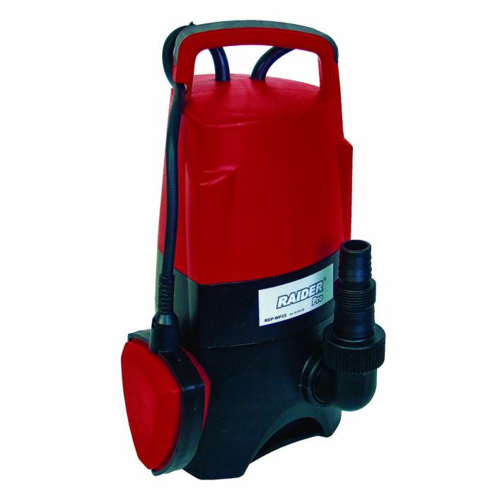 """Pompa de apa murdara submersibila,plutitor,750W 1"""" 217L/min 8m Raider RD-WP25 [0]"""