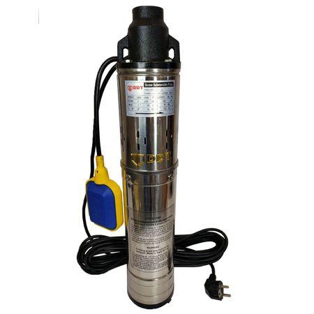 Pompa submersibila cu plutitor, DDT, QGD120, 1.1 kW, Inox, 3 m³/h,Model 2020 2