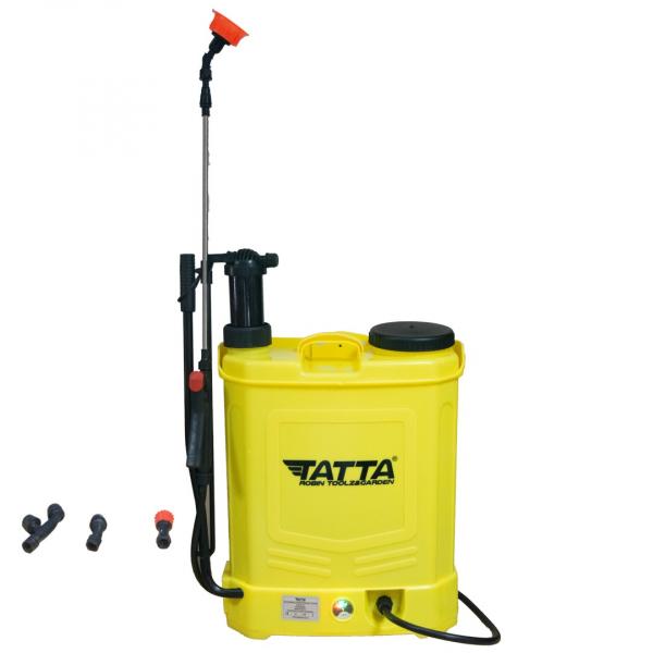 Pompa stropit acumulator, vermorel 20L, 2 in 1 ( acumulator+manuala) 12v, 5 bar, TATTA 1