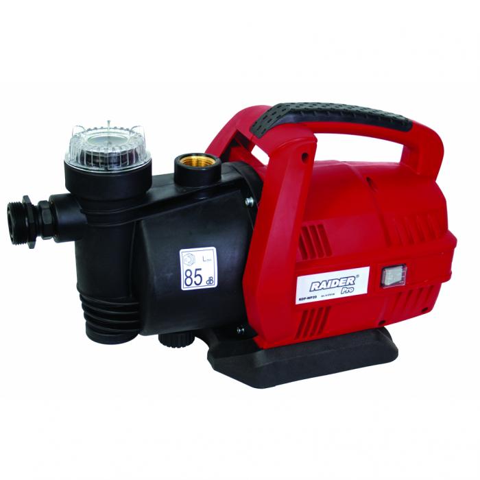 """Pompa de apa centrifugala de suprafata 650W 1"""" 63L/min 8m Raider RD-WP29 0"""