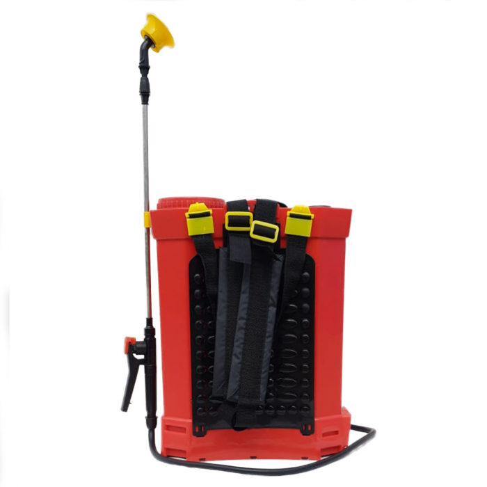 Pompa stropit electrica Elefant 14 Litri, 5 Bar, reglaj presiune, vermorel cu baterie acumulator 12V + Cadou Foarfeca Vie [2]