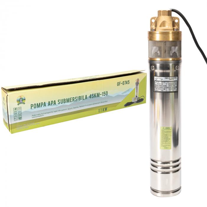 Pompa submersibila 95m PRO 4SKM-150 MF 2.7mc/h, Micul Fermier GF-0745 [2]