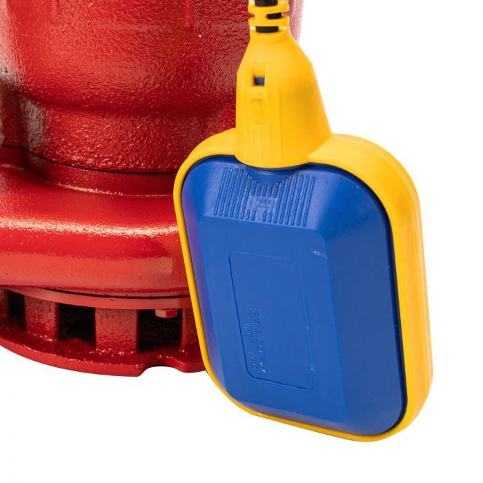 Pompa submersibila apa murdara cu plutitor, fonta, 1.1 Kw, 16m GF 0749 [4]