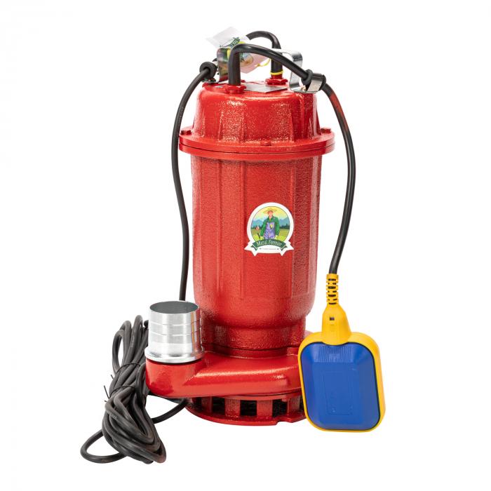 Pompa submersibila apa murdara cu plutitor, fonta, 1.1 Kw, 16m GF 0749 [2]