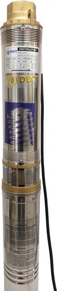 Pompa submersibila de mare adancime, DDT, 4QJD2-8, 1100 W, 8 turbine, Inox [2]