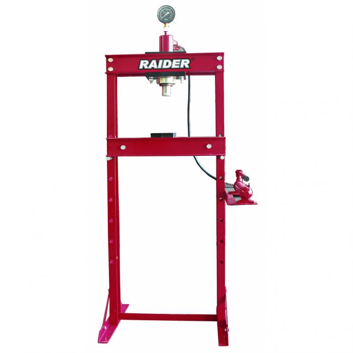 Presa hidraulica cu manometru max 20T RAIDER RD-HP04 [0]