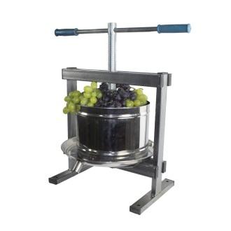 Presa,Teasc struguri si fructe,inox,capacitate 10 L,model 2020 3