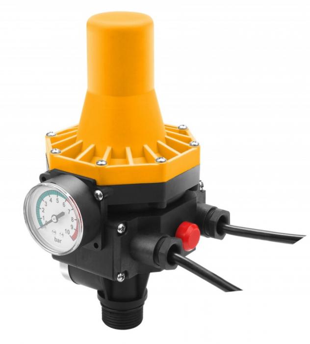 Prescontrol electric pentru pompe adancime,hidrofoare, 1100W, 10 Bar, Tolsen 79969 [0]