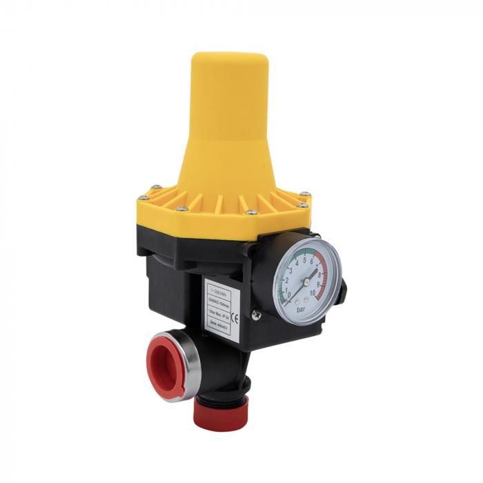 Prescontrol automat pentru pompe submersibile, hidrofor, 1100W, 10 bar, Campion CMP0655 [0]