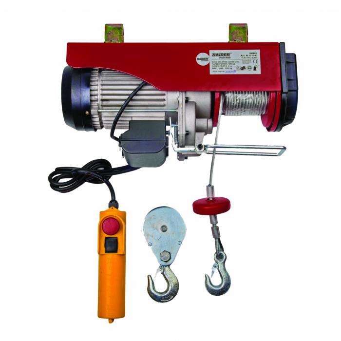Macara electrica 1000kg 1600W 12m RAIDER RD-EH03 [0]