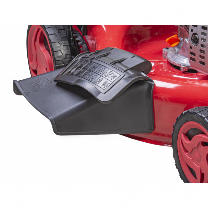"Masina de tuns iarba pe benzina, autopropulsata 196cc 3.2kw (4.3cp) 53cm 21"" 60L 5 in 1 2500m2 RAIDER  RD-GLM10 [1]"