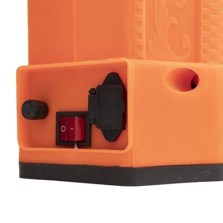 Pompa stropit electrica Elefant 18Litri, 5 Bar, reglaj presiune, vermorel cu baterie acumulator 12V 2