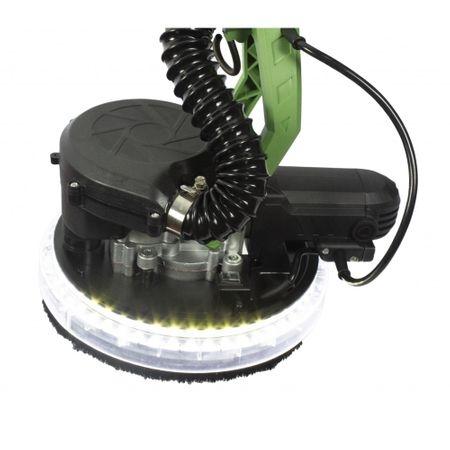 Slefuitor pereti cu aspirator si LED, 1050W, ProCraft EX1050E, Model 2019 3