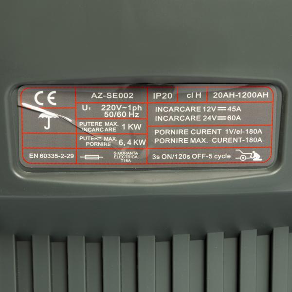 Robot pornire incarcare auto 20-1200Ah CD-430 ALMAZ AZ-SE002 6