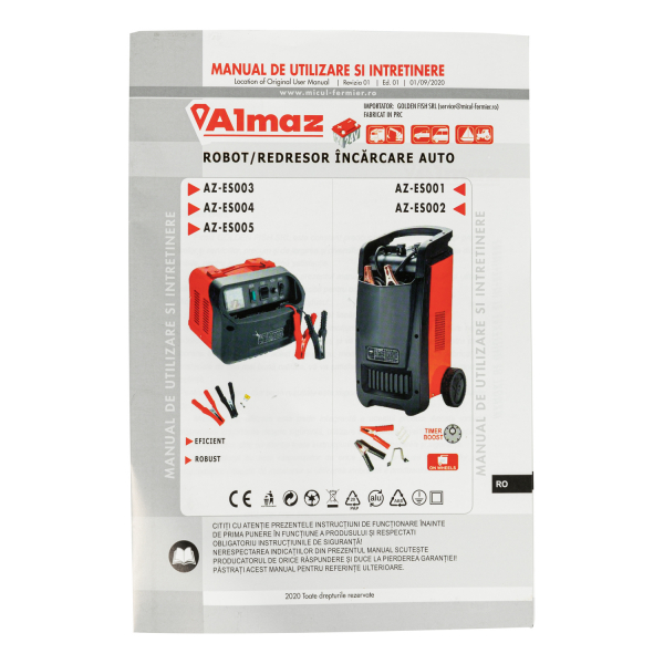 Robot pornire incarcare auto 20-1200Ah CD-430 ALMAZ AZ-SE002 7