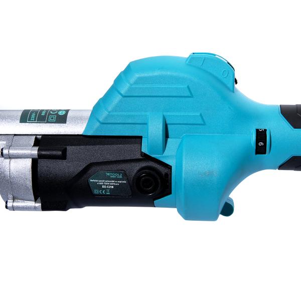 Slefuitor pentru pereti, extensibil cu aspirator si sac DeToolz DZ-C218, 750W, 215mm 1