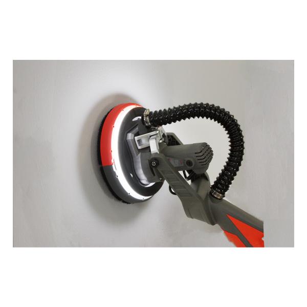 Slefuitor pentru pereti, pliabil cu aspirator Almaz AZ-EC001, LED, 750W, Ø225mm 3