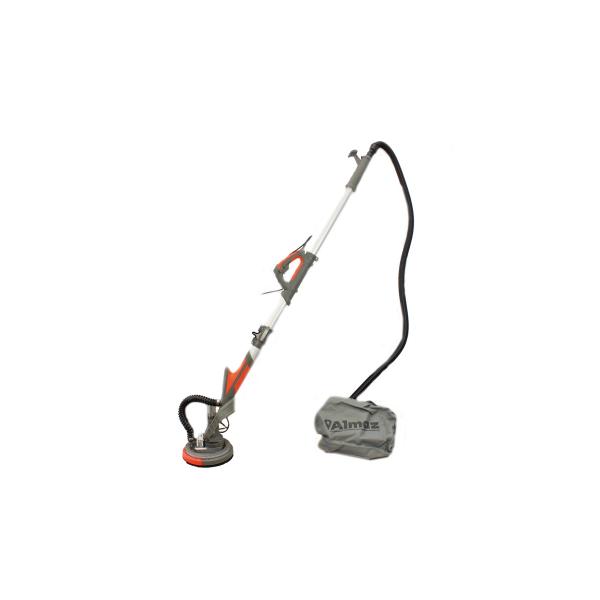 Slefuitor pentru pereti, pliabil cu aspirator Almaz AZ-EC001, LED, 750W, Ø225mm 0