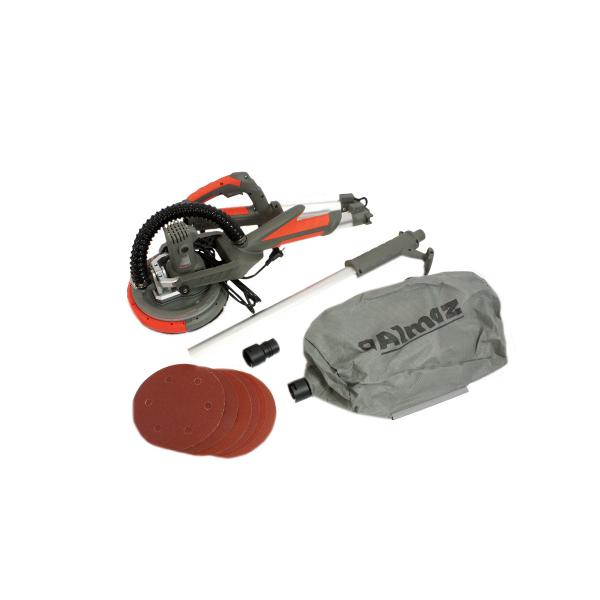 Slefuitor pentru pereti, pliabil cu aspirator Almaz AZ-EC001, LED, 750W, Ø225mm 2