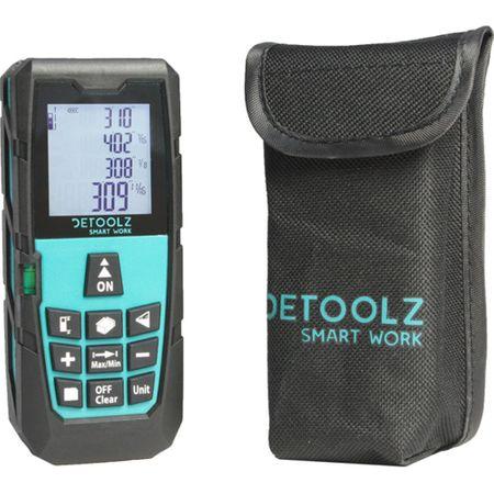 Telemetru cu laser MS-60a DETOOLZ, interval masurare 0,05-60m, precizie +/-1,5mm, memorie 20 masuratori [0]