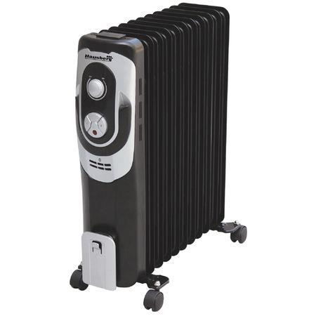 Calorifer electric HAUSBERG HB-8920, 11 elementi, Putere 2500 W, 3 trepte de putere, Termostat de siguranta, Termostat reglabil [0]