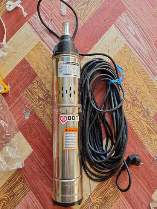 "Pompa submersibila, QGD120, 1.1 kW, Inox , 20 m cablu, 1"" tol Second Hand [0]"