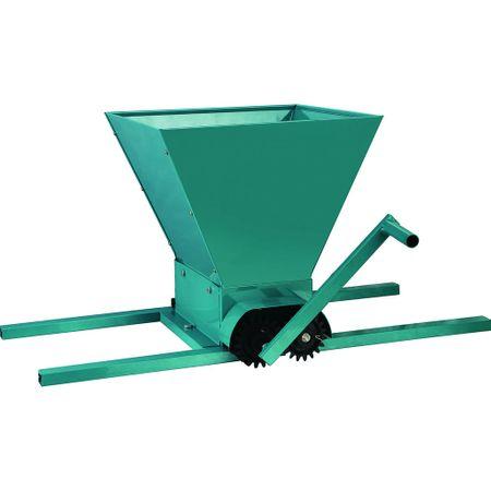 Zdrobitor de struguri manual DDT,cuva mare,25L, 350 kg/h, tamburi poliamida,model 2020 [0]