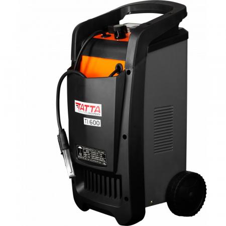 Robot de pornire auto Tatta TI600 Profesional, curent de incarcare max 50A, curent pornire 540A, putere 2.0 KW [2]