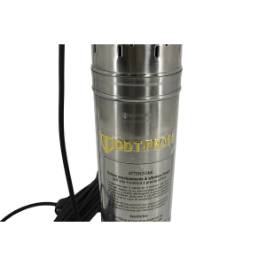 Pompa submersibila, Bobinaj 100% cupru, DDT-PROFI, QGD120-1.2 , 1.2 kW, Inox+Fonta, 3 m³/h, 120 m2