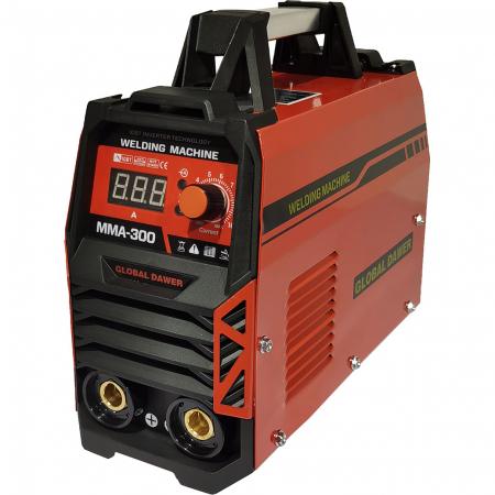 Aparat de Sudura tip Invertor, Dawer, MMA 300, Electrozi 1.6 - 5 mm, 300 A0