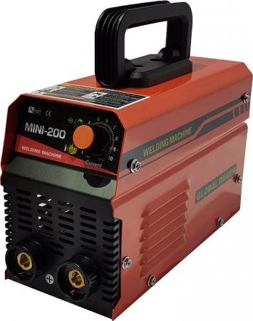 Aparat de Sudura tip Invertor, Global Dawer, Mini 200, 200 A, electrozi 1.6 mm - 4 mm [2]