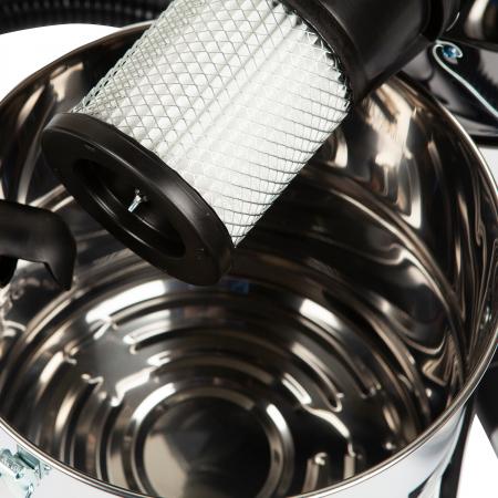 Aspirator cenusa 1200W ,18L, DeToolz DZ-CI106, INOX [2]