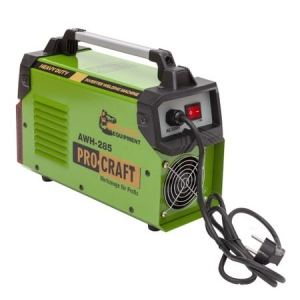 Aparat Sudura ProCraft MMA 285A, Invertor AWH 285 P+ , Model 20201