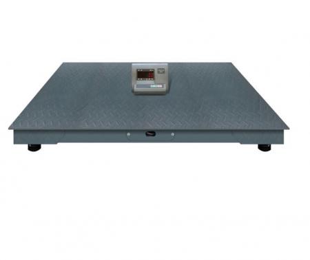Cantar electronic platforma 3000 kg ( 3 tone ), tabla striata 5mm, 100 x 100cm ( 1m x 1m ) [0]